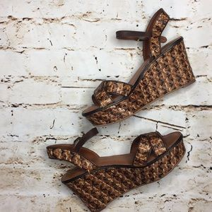 Lucky Brand Kristine Woven Wedges